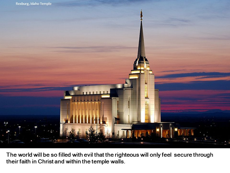 Rexburg, Idaho Temple