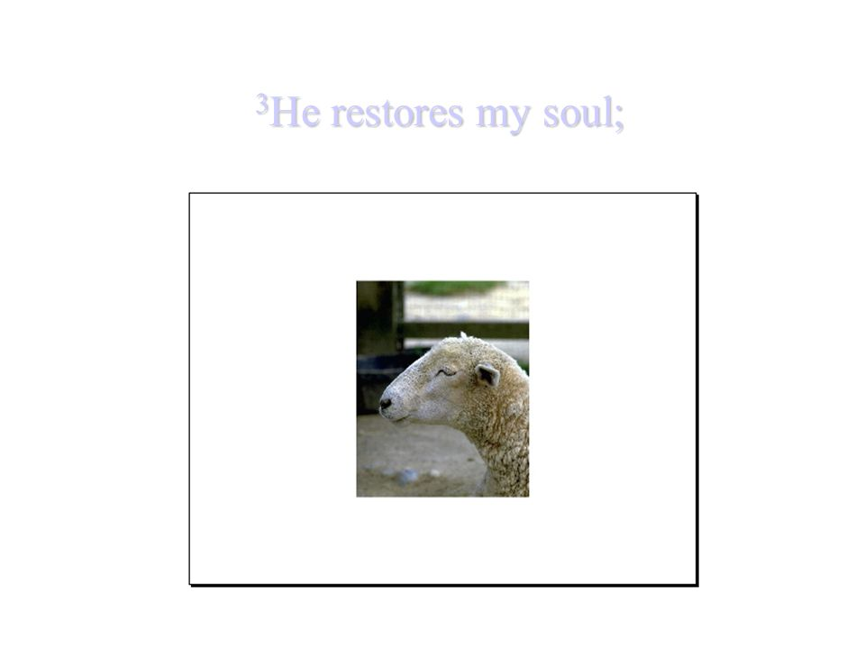 3He restores my soul;