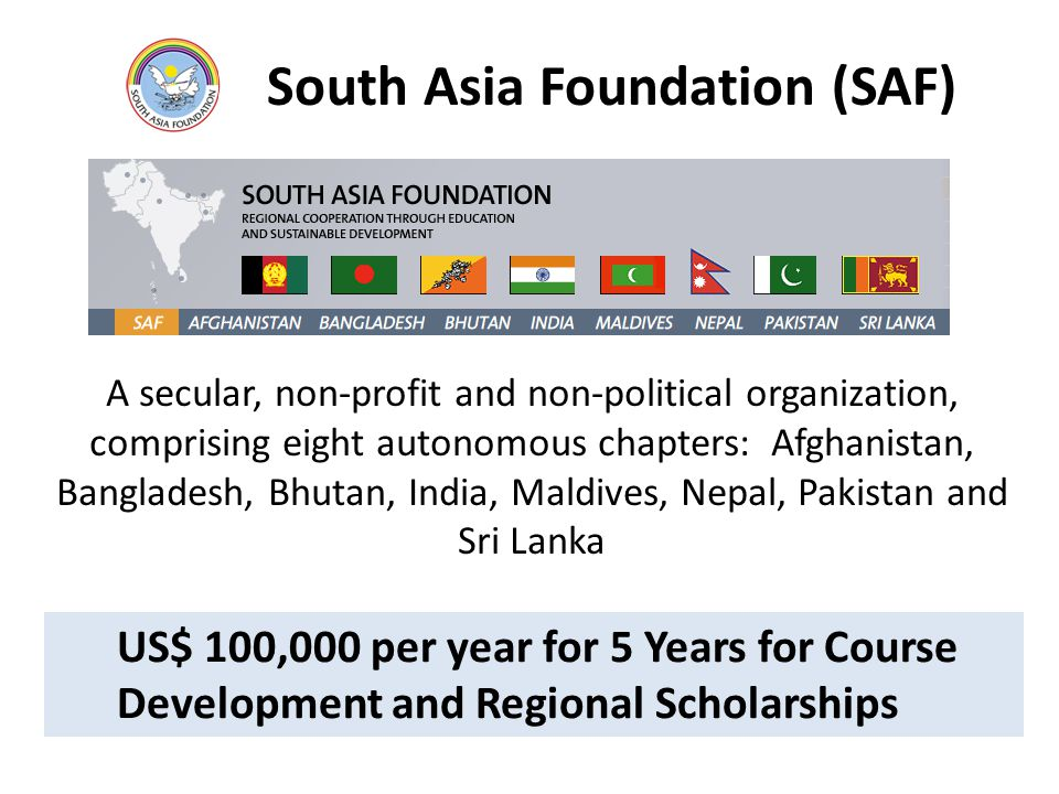 South Asia Foundation (SAF)