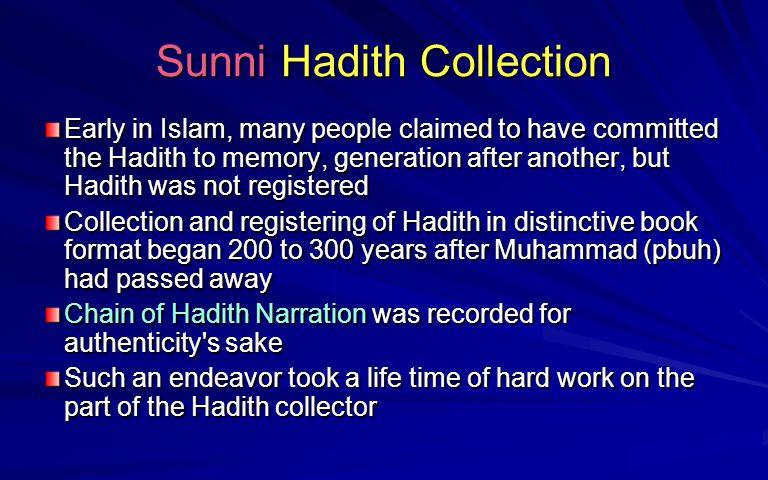 Sunni Hadith Collection
