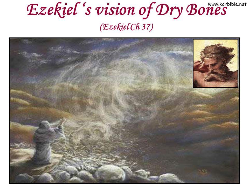 Ezekiel 's vision of Dry Bones (Ezekiel Ch 37)