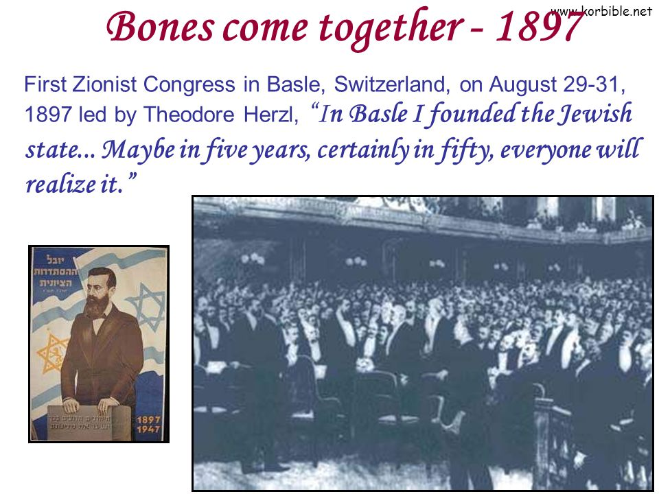 Bones come together - 1897