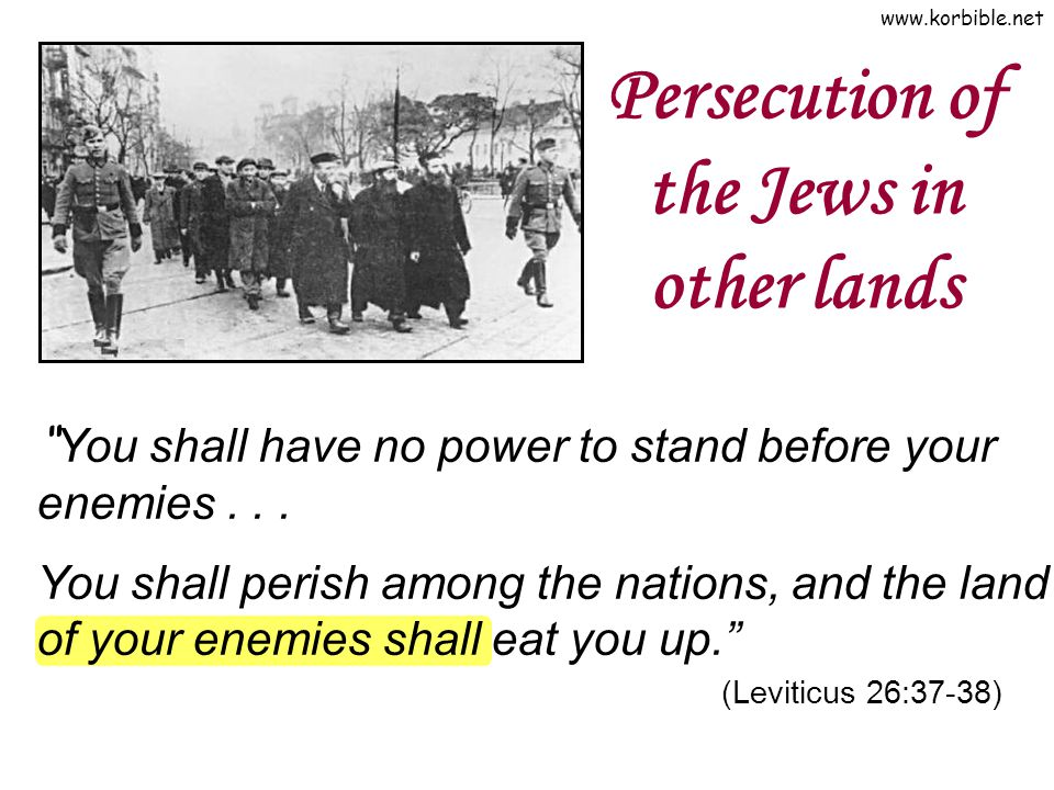 Persecution of the Jews in other lands