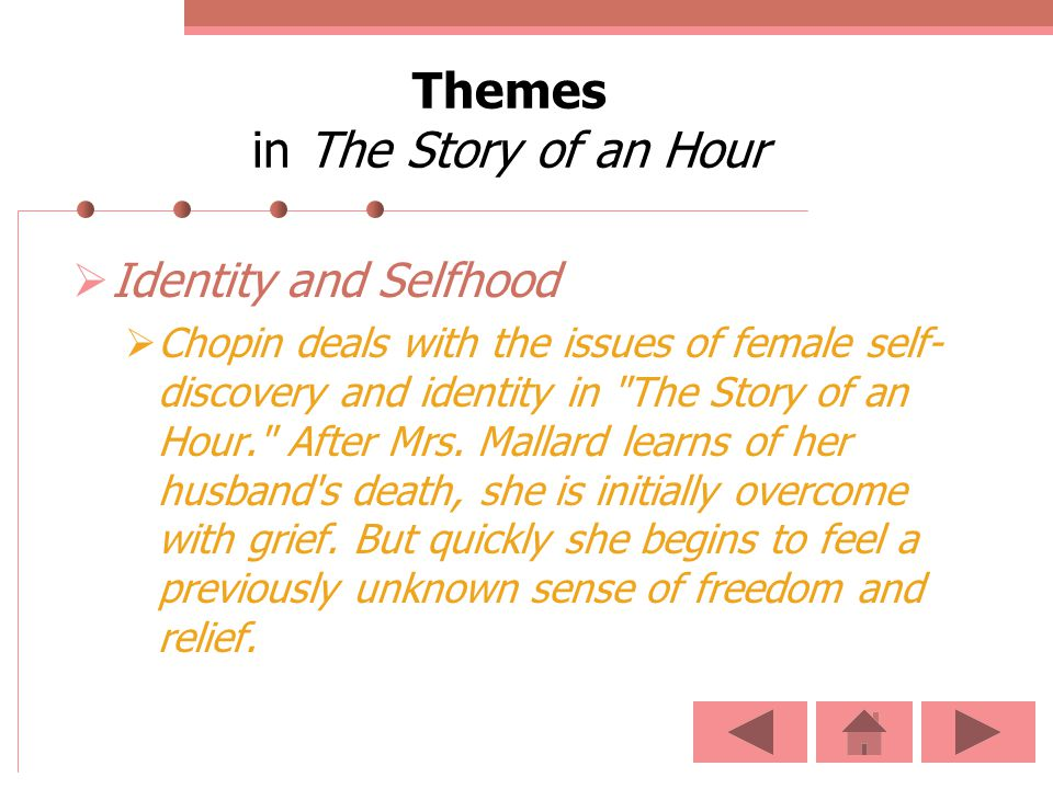 Themes in The Story of an Hour