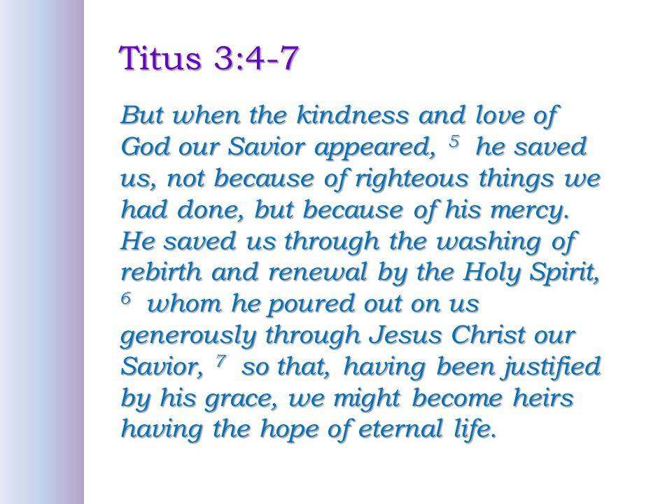 Titus 3:4-7