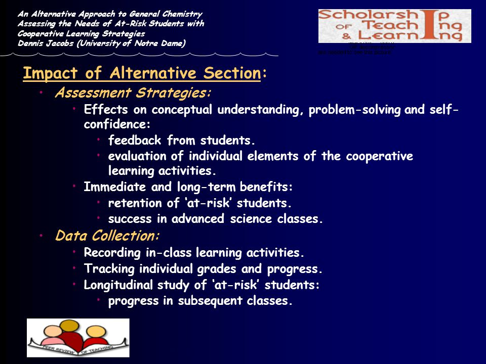 Impact of Alternative Section: