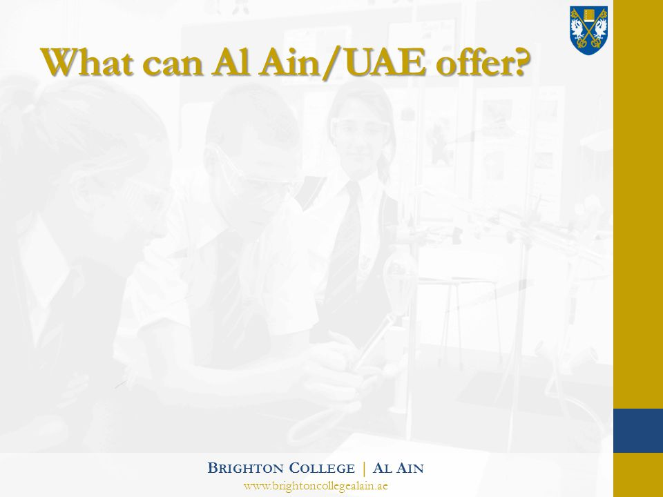What can Al Ain/UAE offer