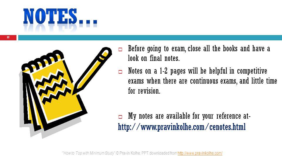Notes… http://www.pravinkolhe.com/cenotes.html