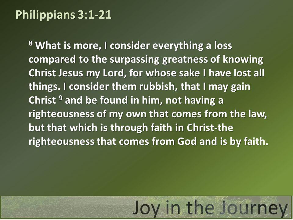 Philippians 3:1-21