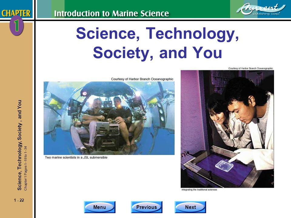 Science, Technology, Society, and You