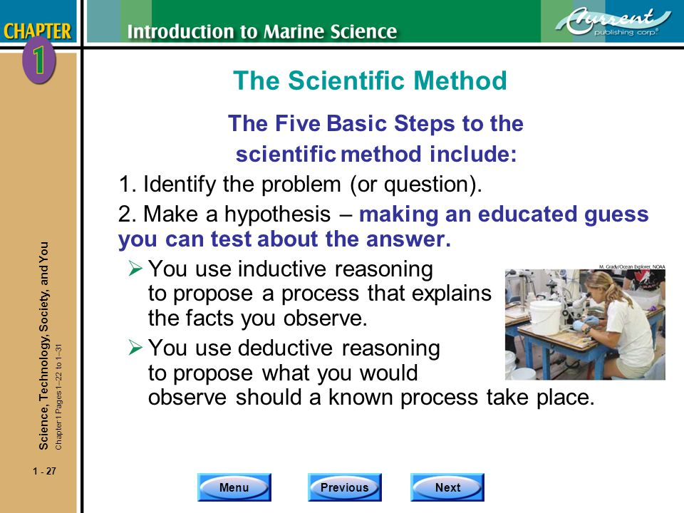 The Five Basic Steps to the