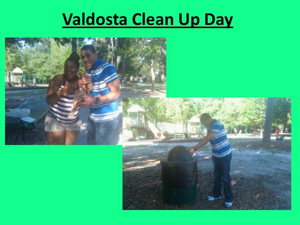 Valdosta Clean Up Day