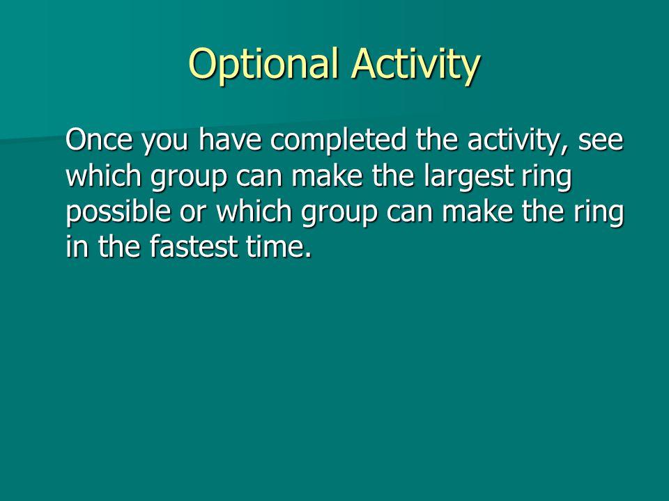 Optional Activity