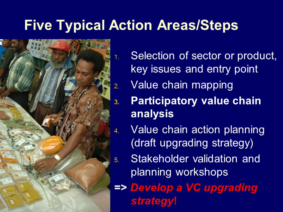 Five Typical Action Areas/Steps