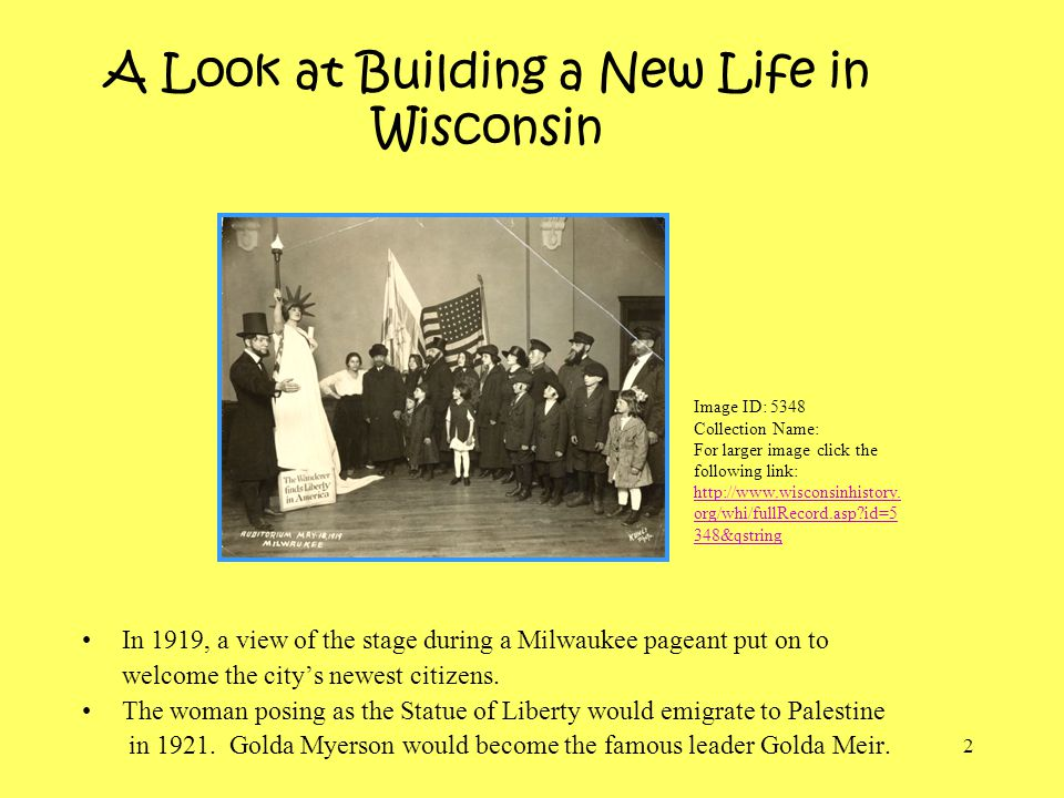 A Look at Building a New Life in Wisconsin