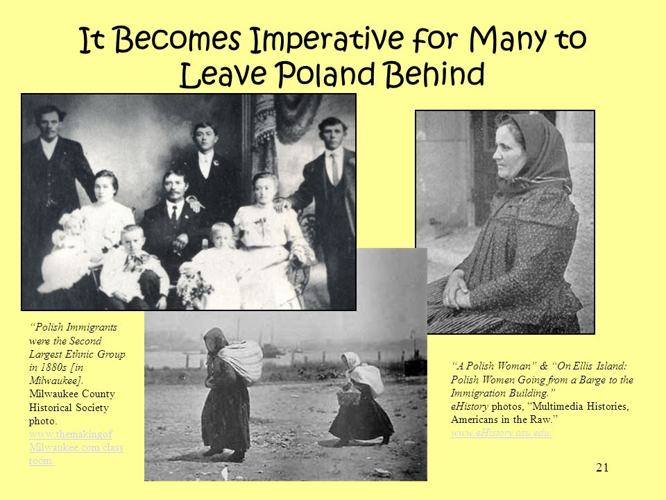 It Becomes Imperative for Many to Leave Poland Behind