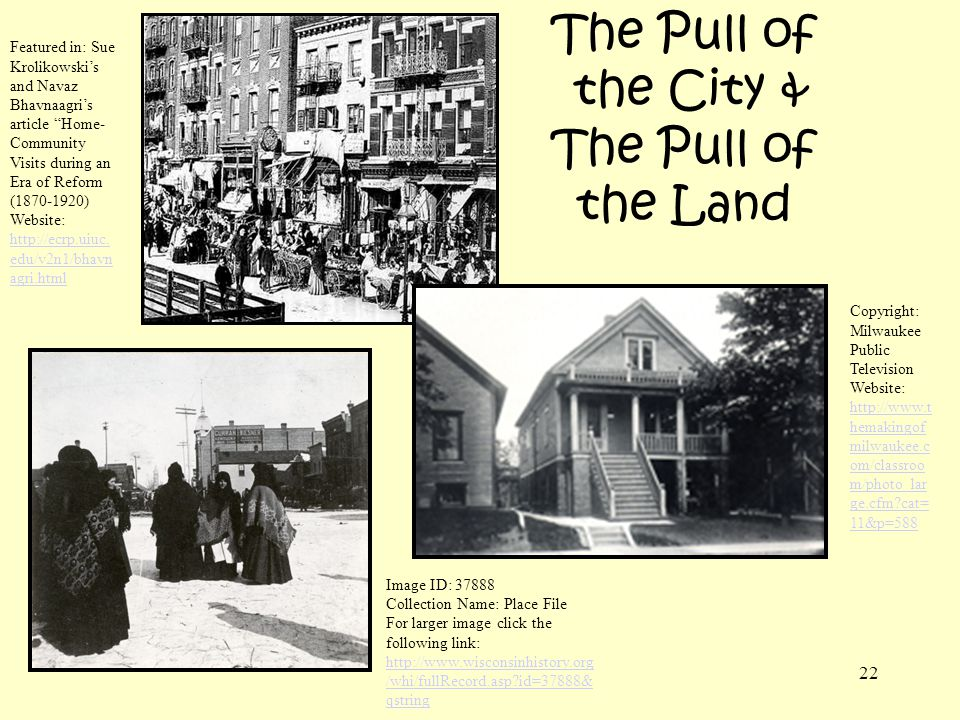 The Pull of the City & The Pull of the Land