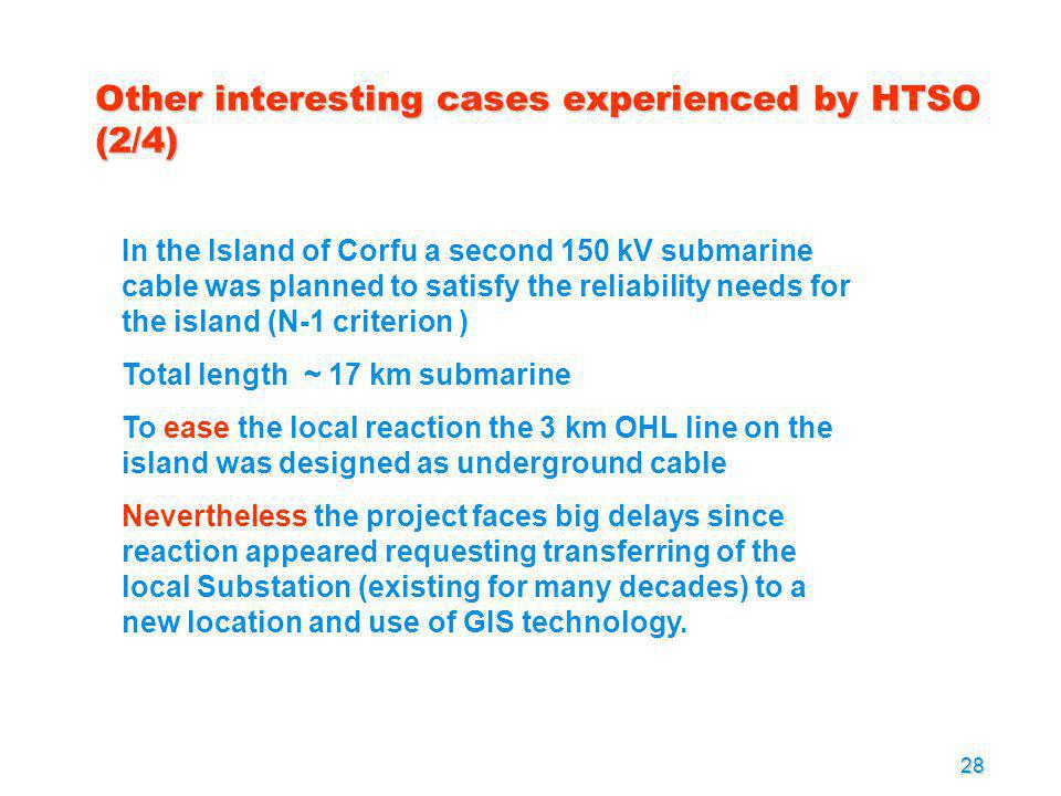 Other interesting cases experienced by HTSO (2/4)