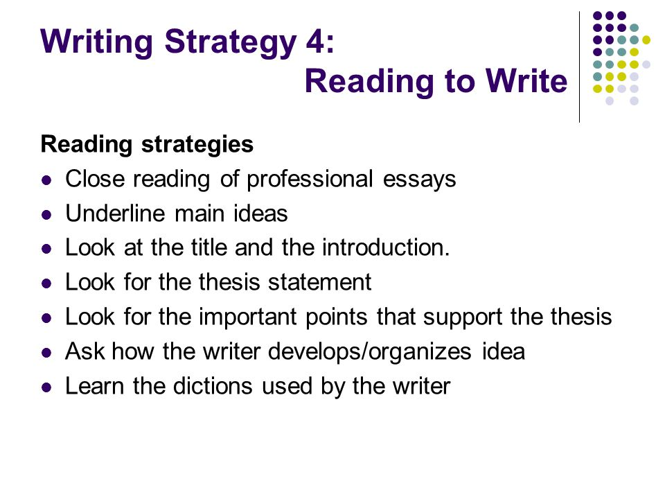 closed reading essay I doing a close reading getting started: treat the passage as if it were complete in itselfread it a few times, at least once aloud concentrate on all its details and assume that everything is significant.