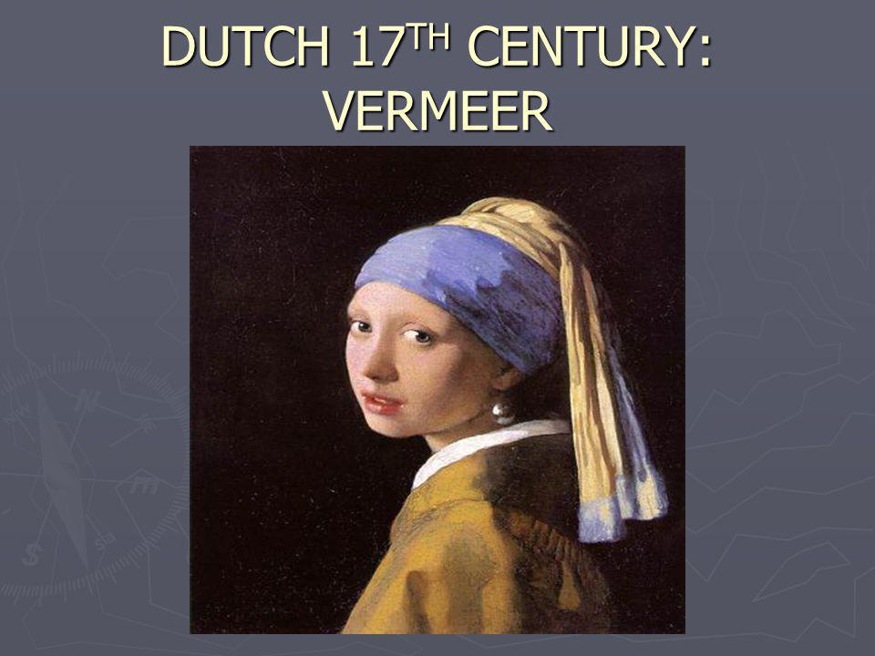 DUTCH 17TH CENTURY: VERMEER