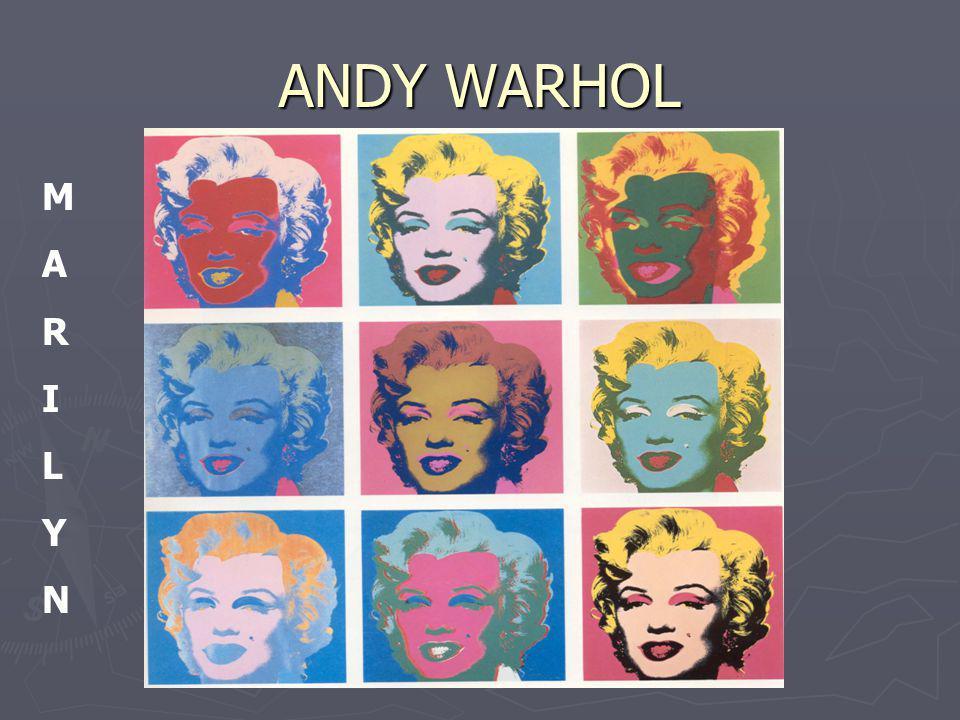 ANDY WARHOL M A R I L Y N