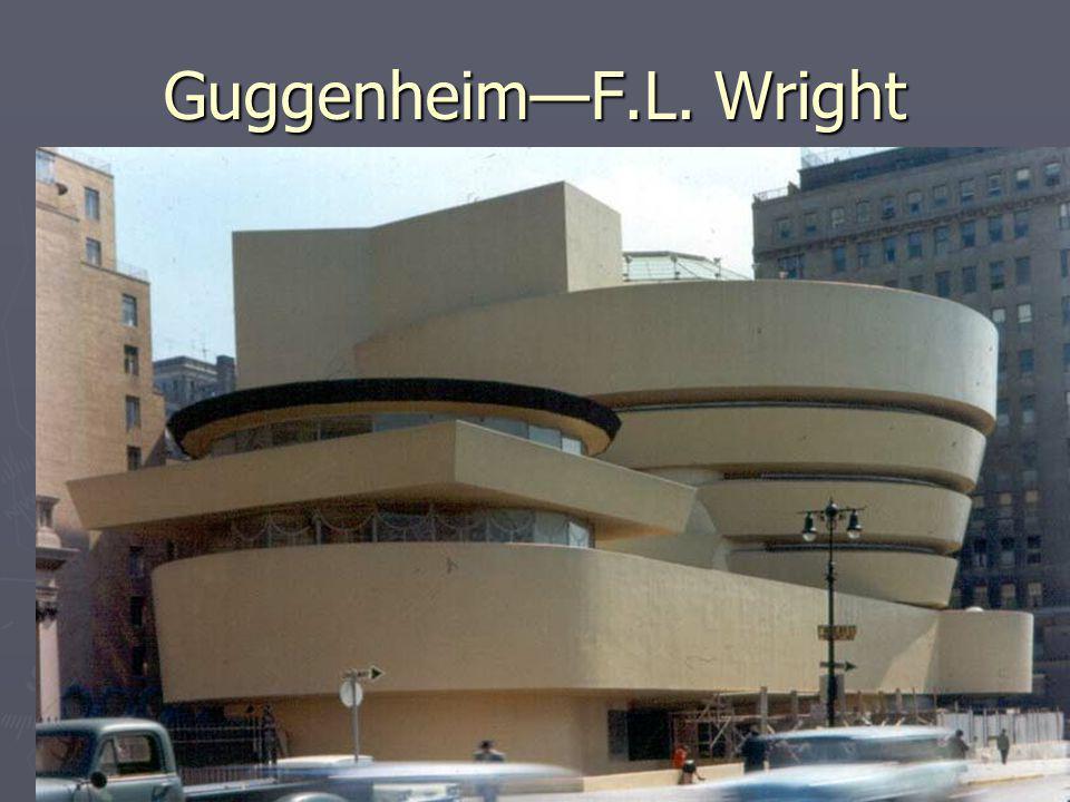 Guggenheim—F.L. Wright