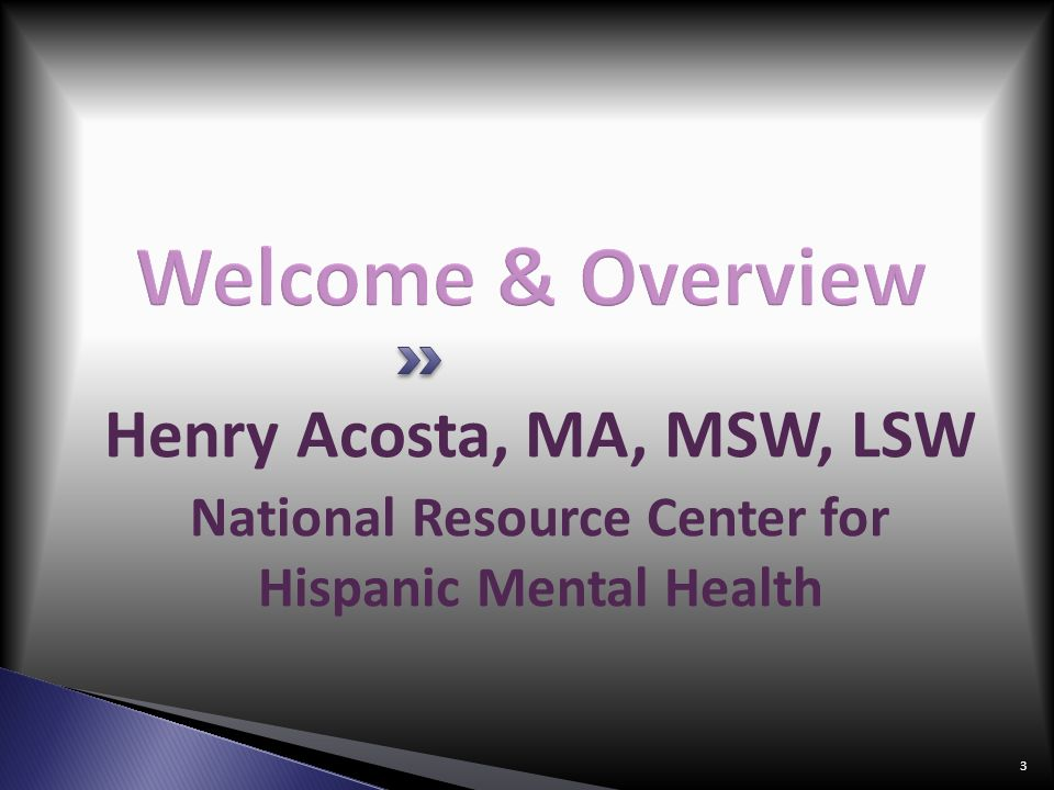 National Resource Center for Hispanic Mental Health