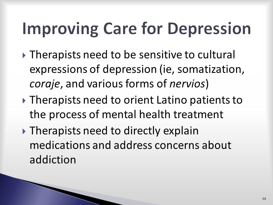 Improving Care for Depression