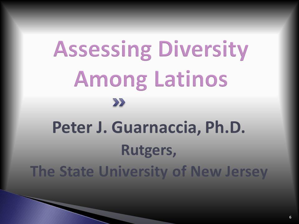 Assessing Diversity Among Latinos