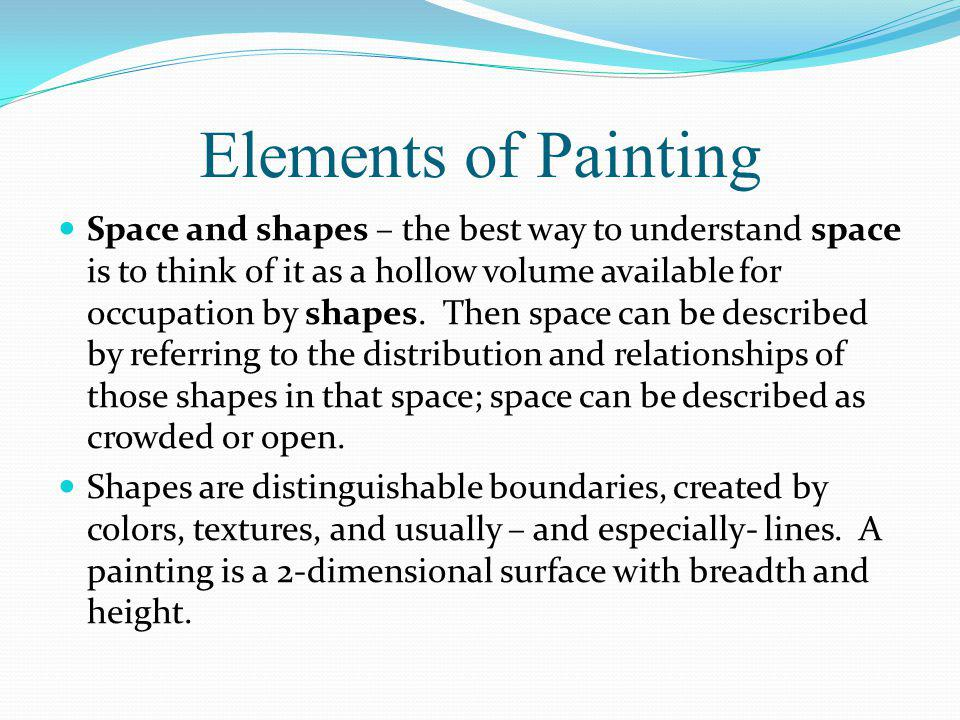 Elements of Painting