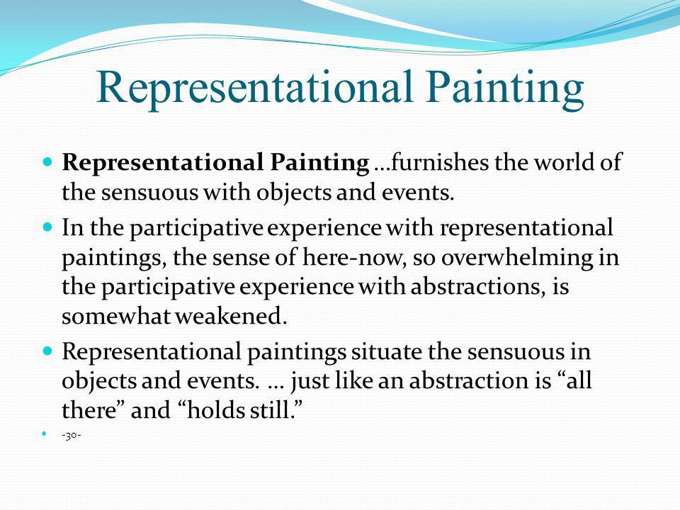 Representational Painting