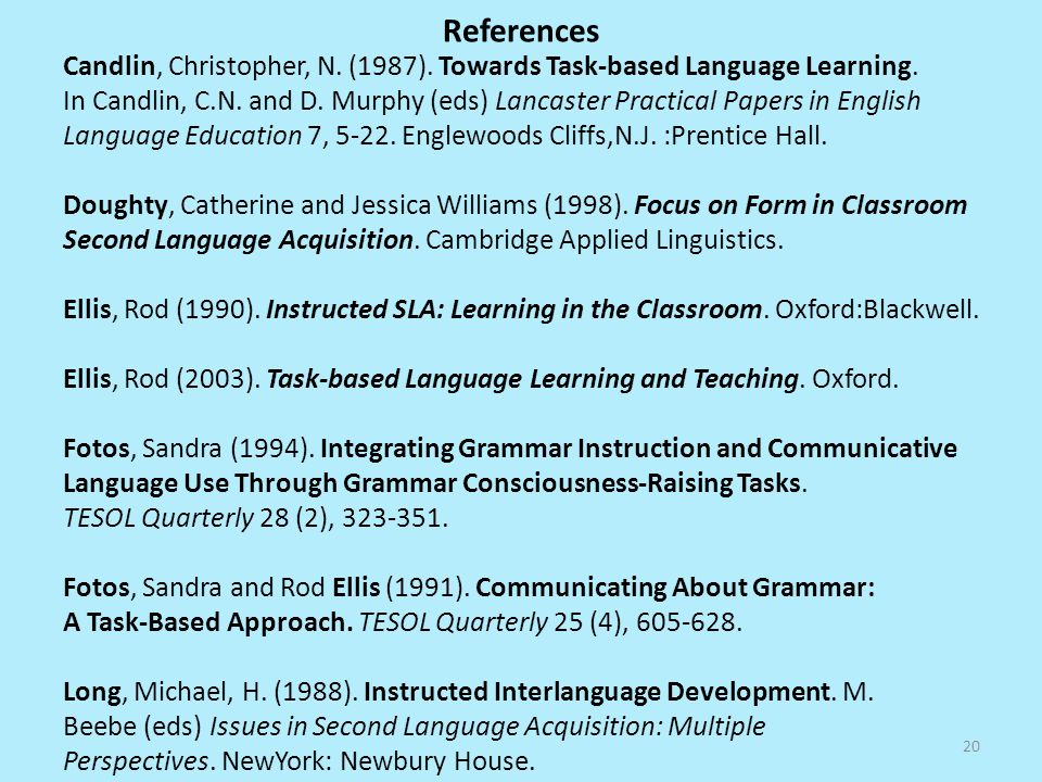 task based language learning and teaching ellis pdf