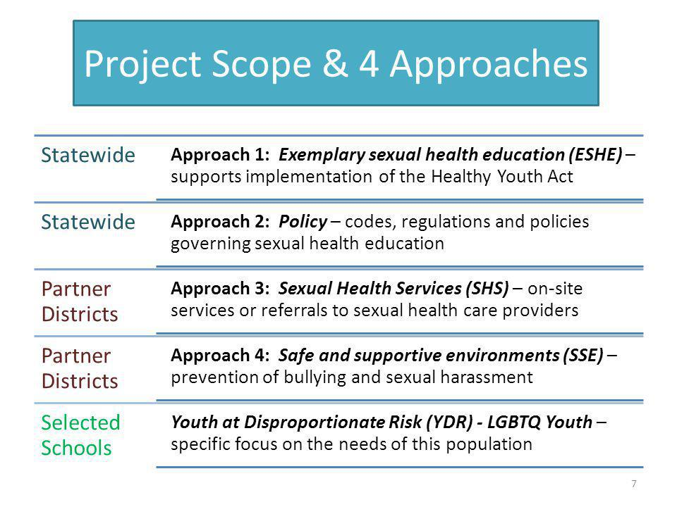 Project Scope & 4 Approaches