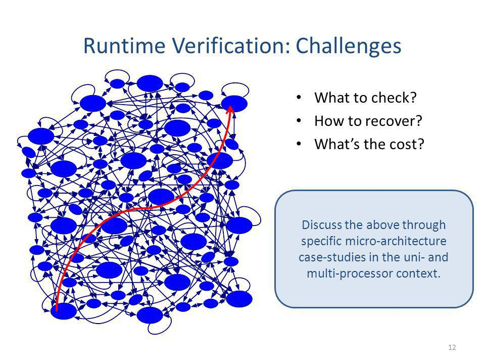 Runtime Verification: Challenges