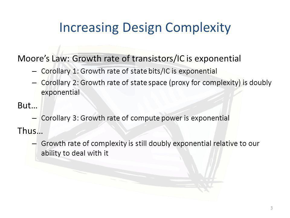 Increasing Design Complexity