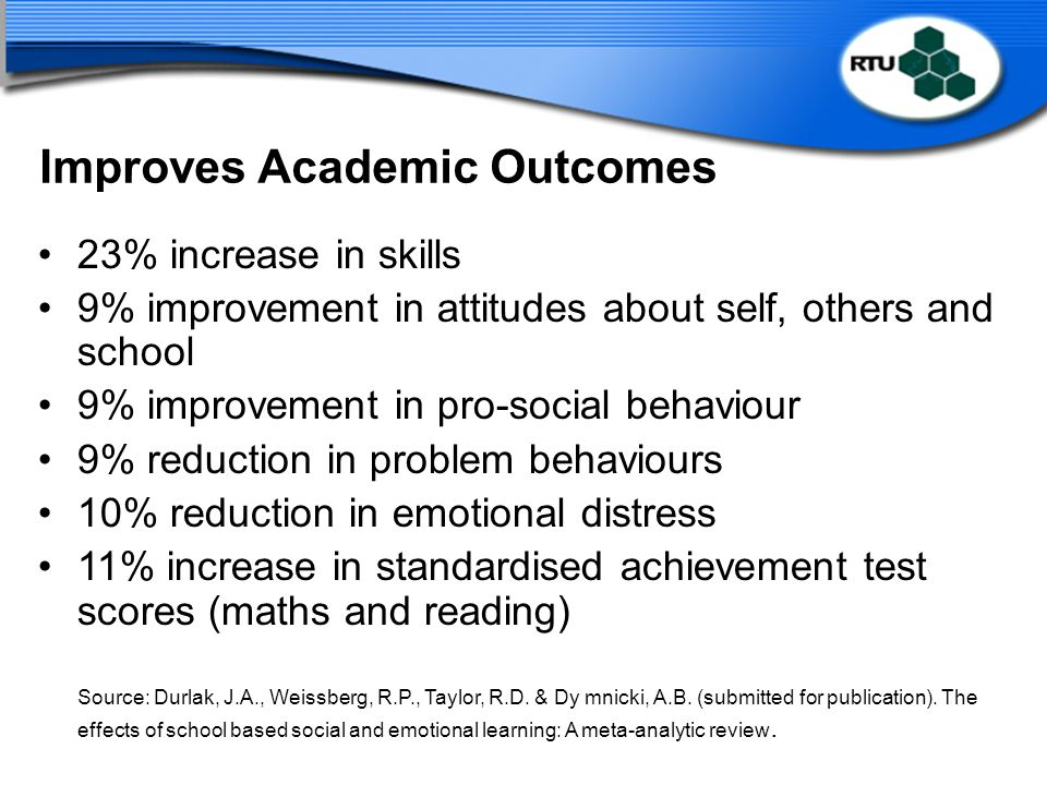 Improves Academic Outcomes