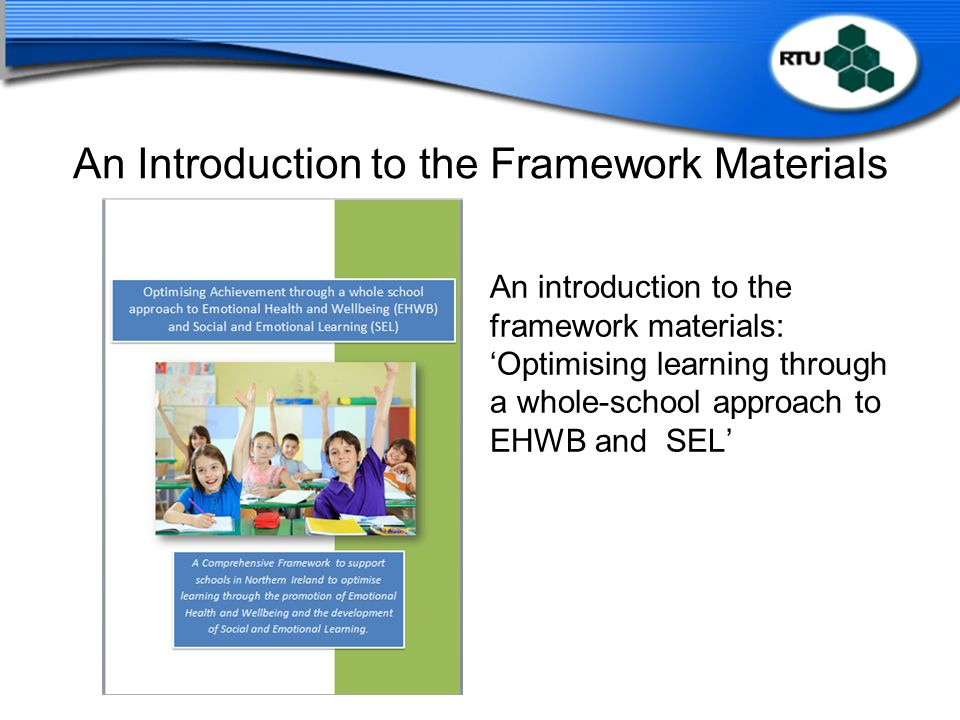 An Introduction to the Framework Materials