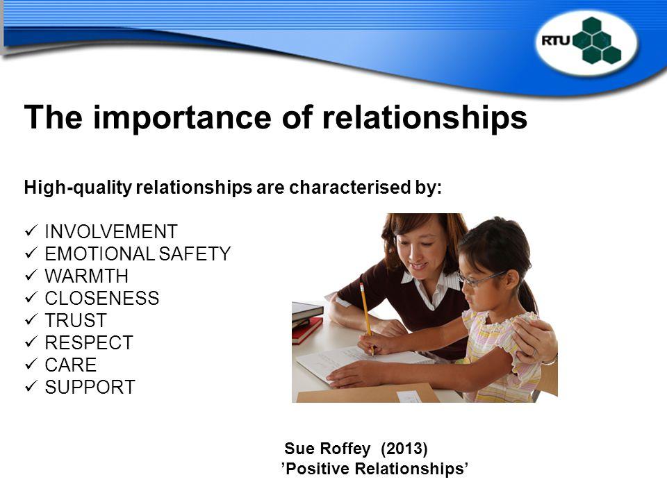 'Positive Relationships'