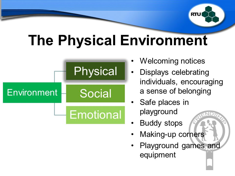 The Physical Environment
