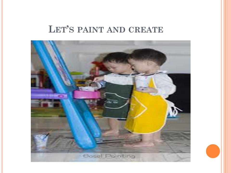 Let's paint and create