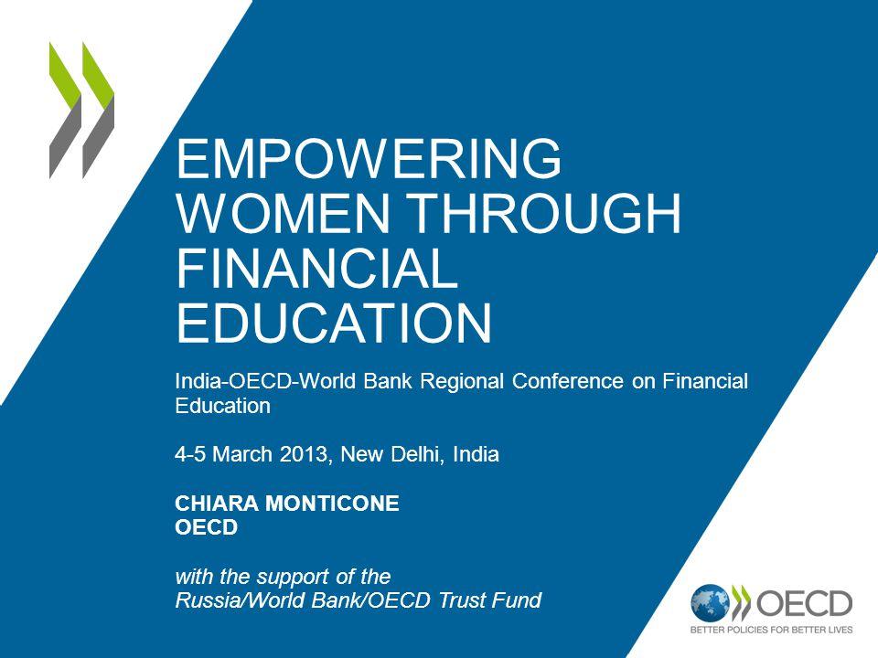 Empowering women through financial education