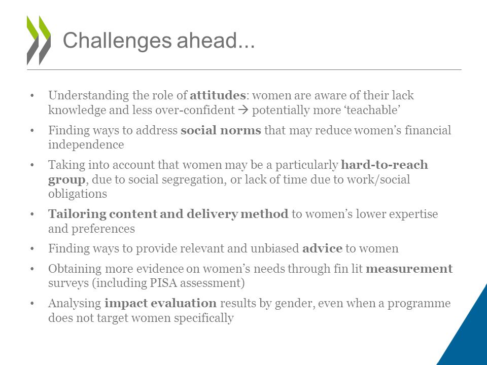 Challenges ahead...