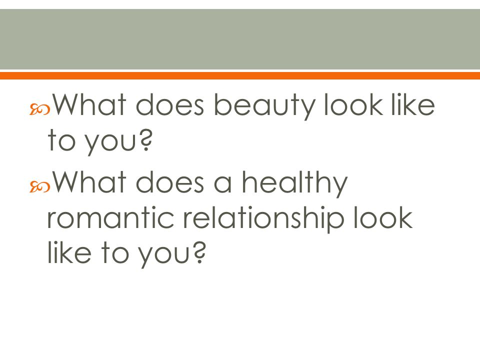What does beauty look like to you
