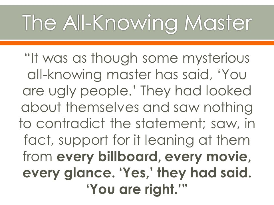 The All-Knowing Master
