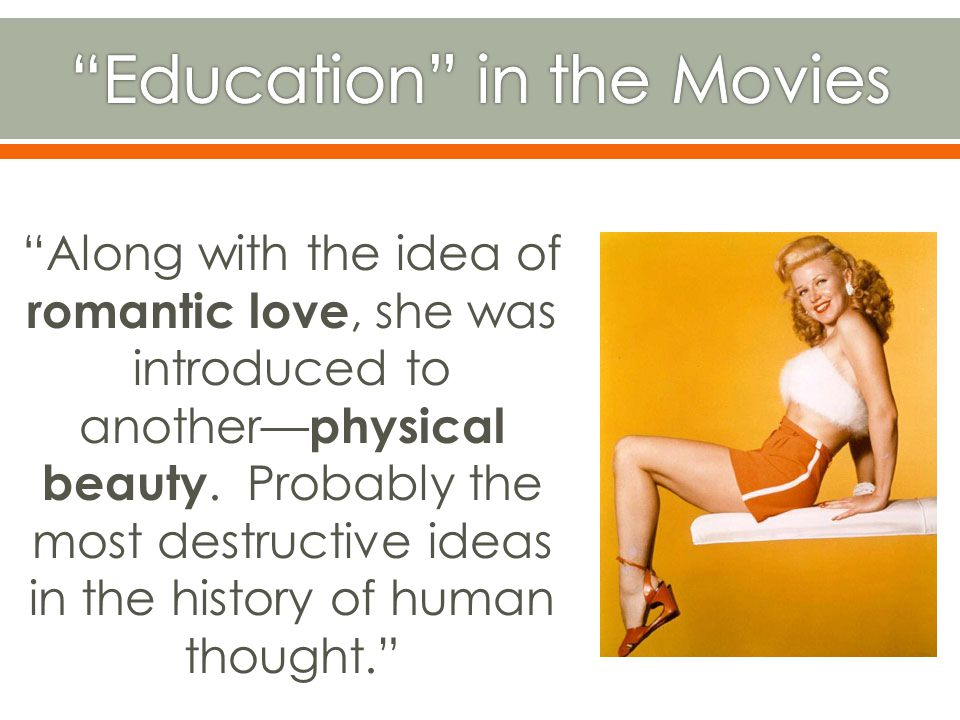 Education in the Movies