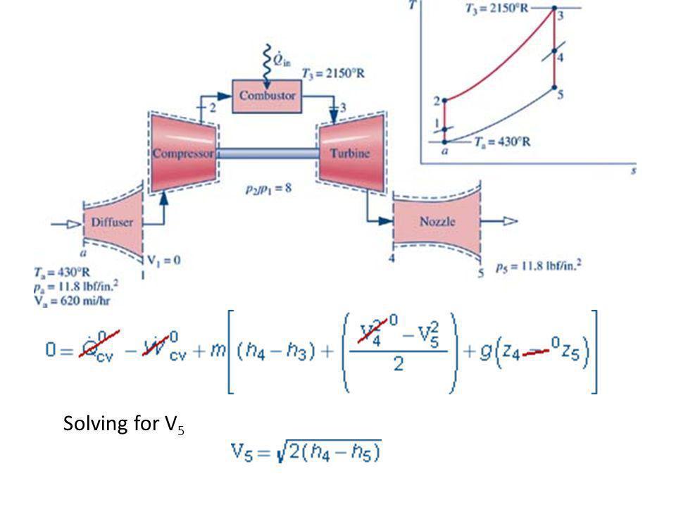 Solving for V5