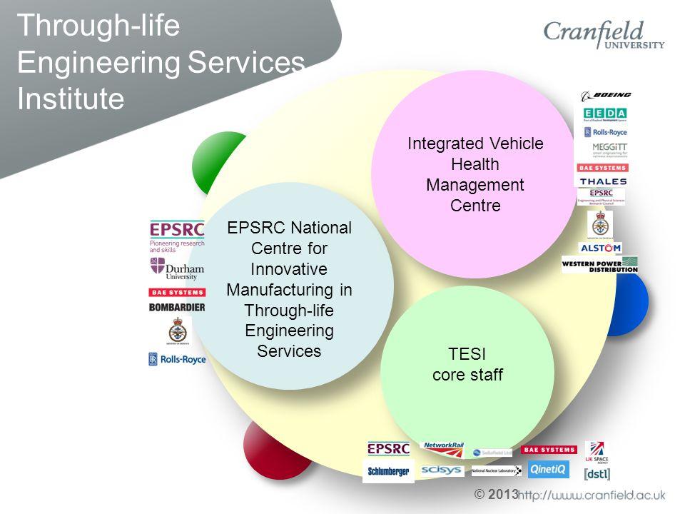 Through-life Engineering Services Institute