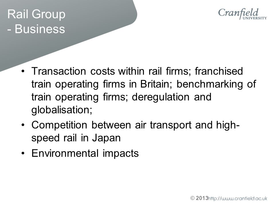 Rail Group - Business