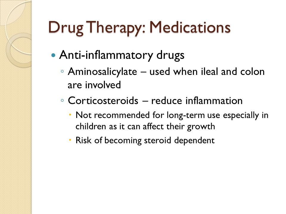 Drug Therapy: Medications