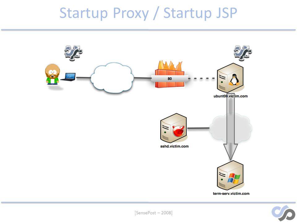 Startup Proxy / Startup JSP